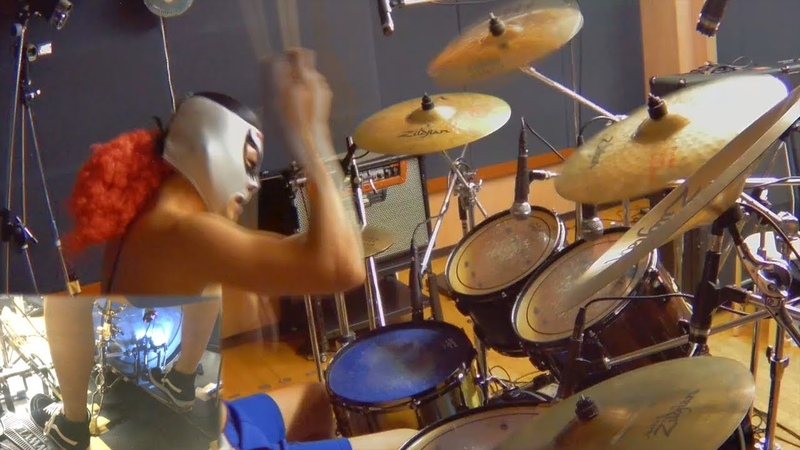 【スラムダンク OP ED】君が好きだと叫びたい 世界が終わるまでは 激しく叩いてみた!ANIME SLAM DUNK OPENING and ENDING THEME drum cover.