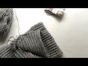 ВЯЗАНИЕ кромка шарфа английской резинкой видео по запросу
