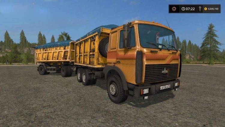 МАЗ 5516 САМОСВАЛ V2.2