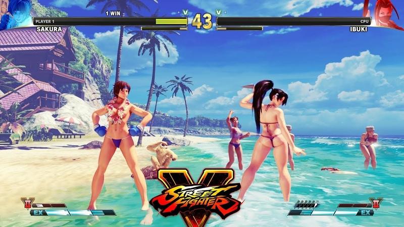 Street Fighter V AE Sakura vs Ibuki PC Mod