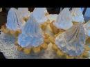 Корзиночки с кремом меренгами