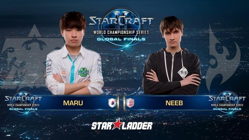 2018 WCS Global Finals Ro16, Group A, Winners Match: Maru (T) vs Neeb (P)