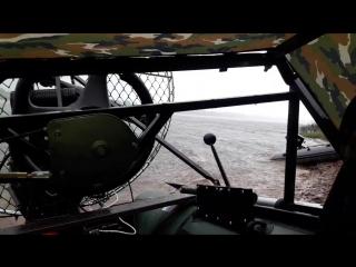 Аэролодка Лани-Пеликан 360. Спасли лодку которая оторвалась.mp4