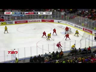 Sweden vs. russia (sf) 2020 iihf world junior championship