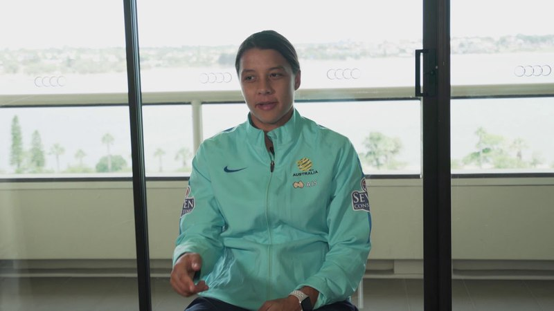 Sam Kerr when asked about playing DPR Korea in the 2010 AFC Women's Asian Cup