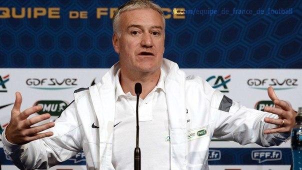Дидье Дешам: я очень счастлив на должности главного тренера сборной Франции