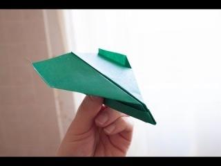 Как сделать самолет из бумаги. Самолетом в лоб, крушение бумажного самолета / Russian paper plane