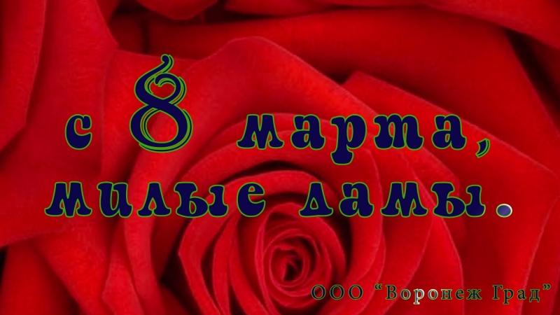 Воронеж Град поздравление с 8 марта
