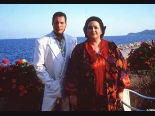 Фредди Меркьюри и Монсеррат Кабалье. Интервью на Ибице. 1987 год.