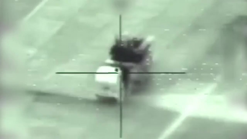 The IDF struck an SA22 aerial interception system as part of a wide scale attack against I