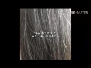 Grey hair for bleaching
