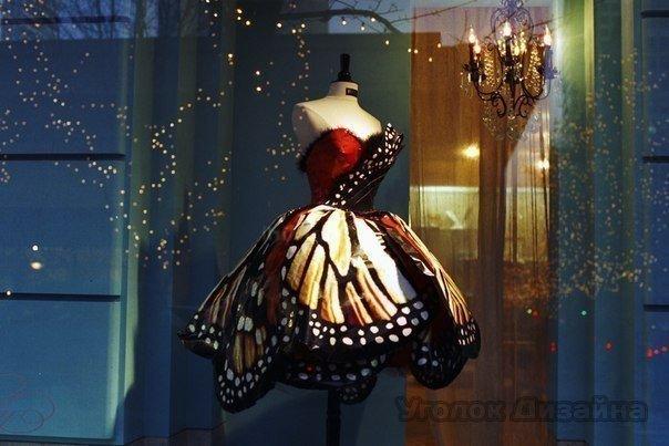 Платье-бабочка от Лули Янг.