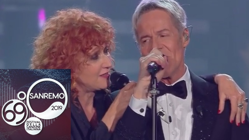 Sanremo 2019 Fiorella Mannoia e Claudio Baglioni cantano Quello che le donne non dicono