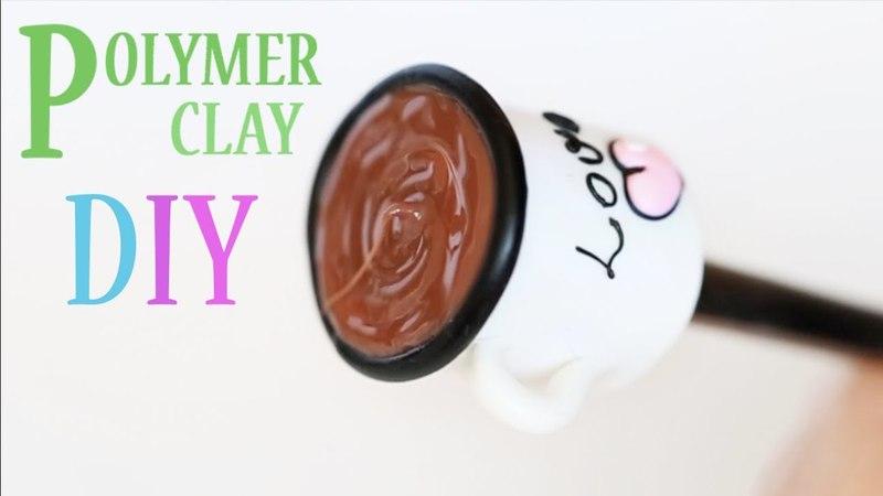 Лепим вкусную ложечку из полимерной глины Yummy Spoon Polymer Clay DIY