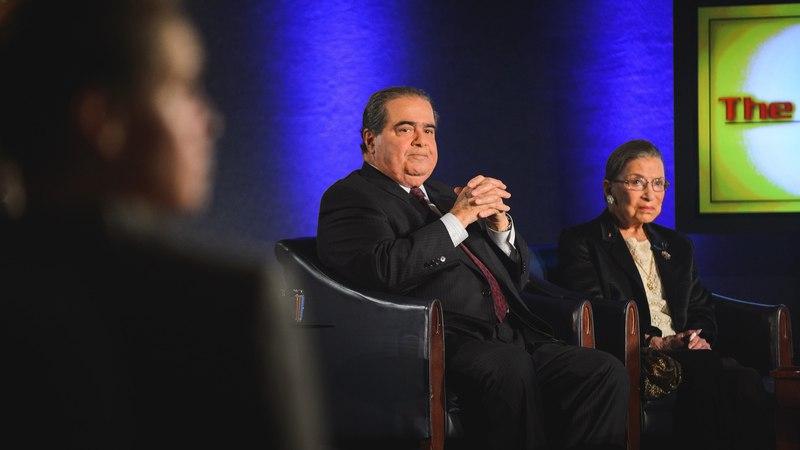 The Kalb Report - Ruth Bader Ginsberg Antonin Scalia