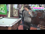 One Direction Louis Tomlinson & Eleanor Calder depart Shamrock Tattoo in West Hollywood