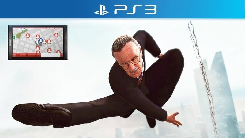 The Amazing Spider-Man   Stan Lee DLC (Free Roam Gameplay)