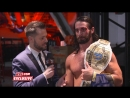 Seth Rollins says he couldnt win at SummerSlam without Dean Ambrose_ WWE Exclus
