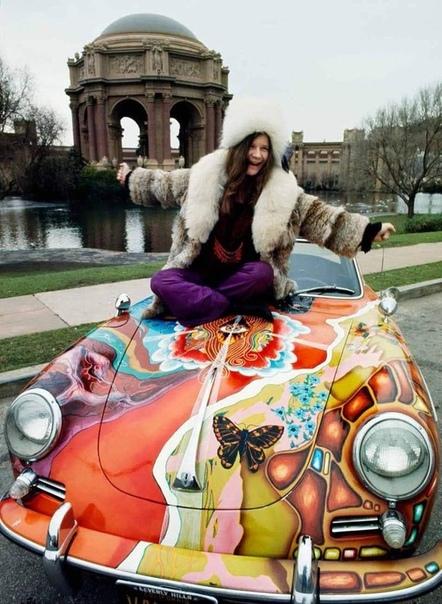 Дженис Джоплин её психоделический Porsche