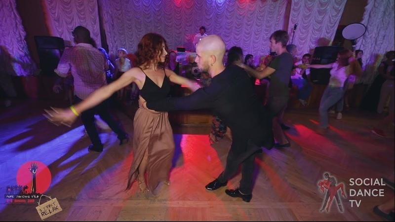 Dmitry Svetlana - Salsa social dancing at the 2018 The Third Front Salsa Festival