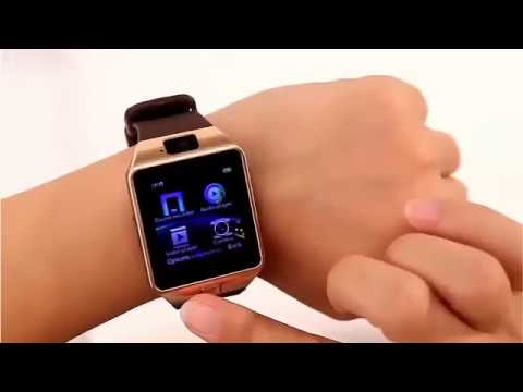 Умные часы Smart Watch DZ09 - YouTube