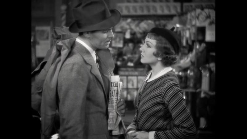 Это случилось однажды ночью 1934 год Жанр мелодрама, комедия В ролях Кларк Гейбл, Клодетт Колбер