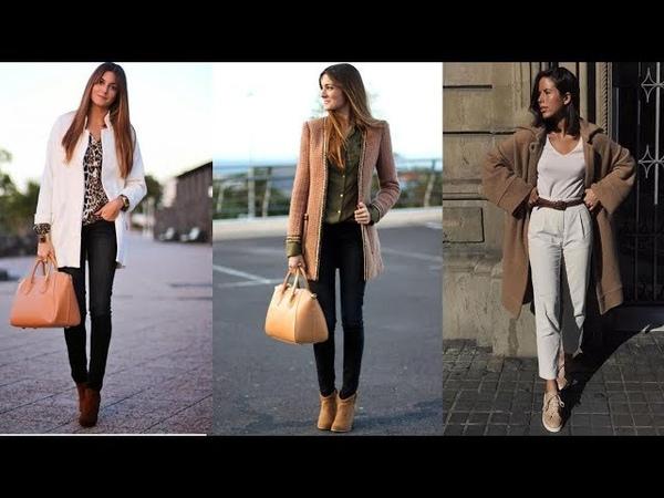 MODA OTOÑO INVIERNO 2019 Combinaciones de ropa de moda mujer FASHION LOVE