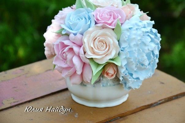 Цветы из фоамирана: мастер-класс по изготовлению пиона