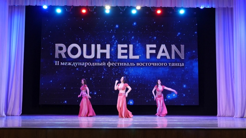 Шоу -группа Хаяти 1место группы Ориенталь Rouh El Fan Красноярск 2018