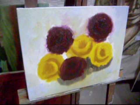 (Aula 2 / 5) Video Aula Pintura em Tela Marcio monteiro