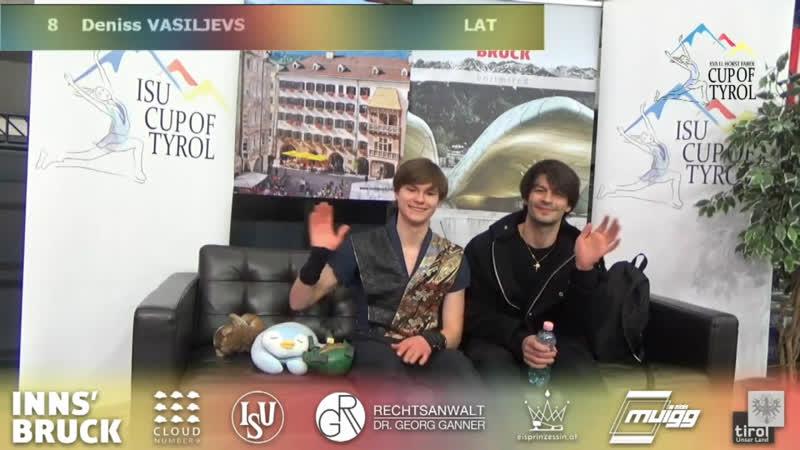Денис Васильев,ПП, Cup of Tyrol 2019