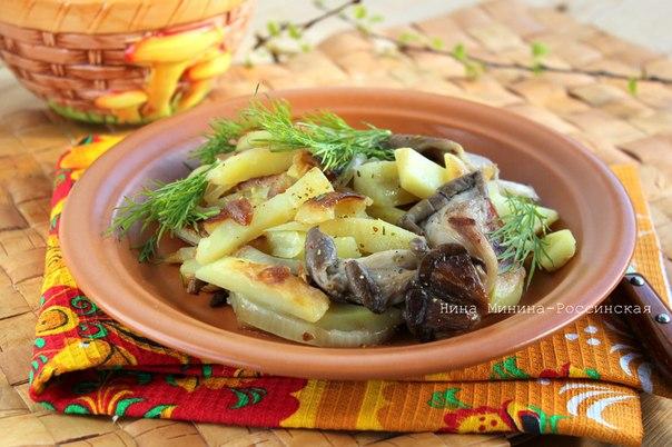 Блюда из вешенок рецепты с фото простые