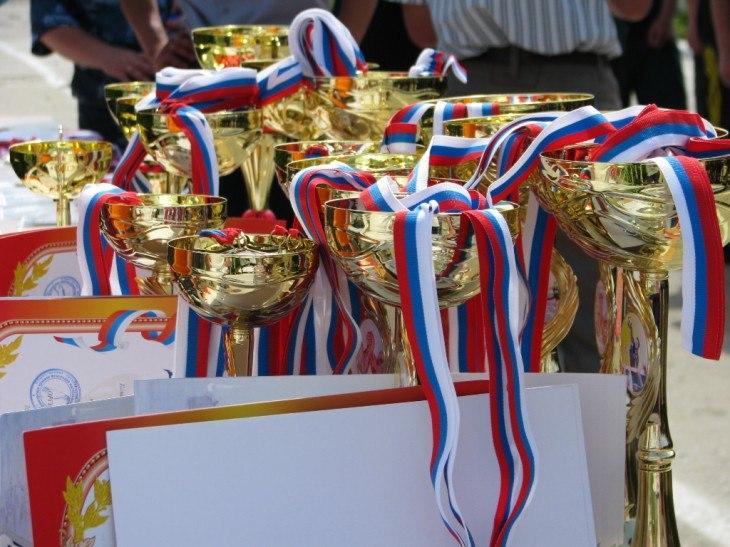 В Таганроге прошла спартакиада допризывной и призывной молодежи