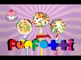 Make FUNFETTI Cake Pops! A Rainbow of Sprinkles Inside &amp Out! A Cupcake Addiction how To Tutorial
