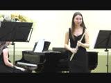 MVI_0643 - С. Прокофьев. Соната ре - мажор для флейты и фортепиано, 3 и 4 части.