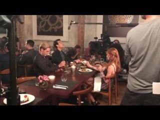 Съёмки: Двойное свидание Клэйс и Сайи