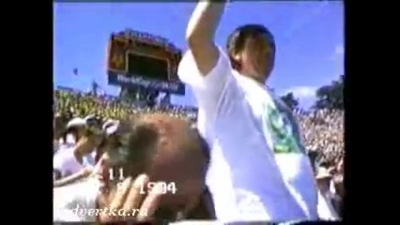 Реклама МММ. Лёня Голубков на Чемпионате мира по футболу в США 1994.