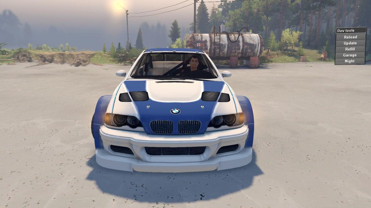 BMW M3 2004 для бета 22.07.15 для Spintires - Скриншот 3
