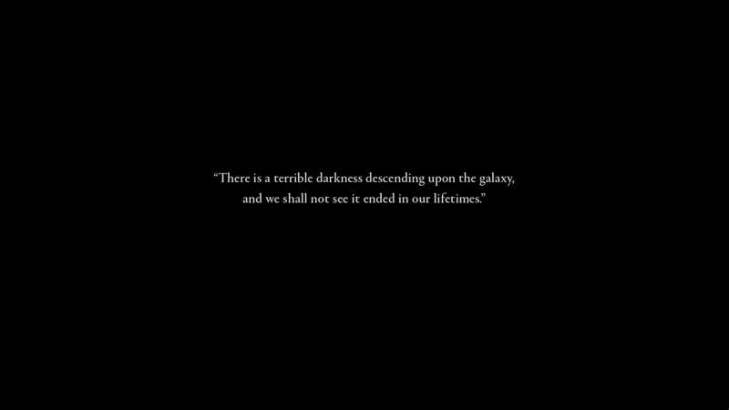 Warhammer 40000 Dawn of War III intro - In Darkness, I shall be light.mp4