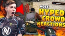 CS GO MOST HYPED CROWD REACTIONS to SICK PLAYS ft Snax pasha Stewie2k More