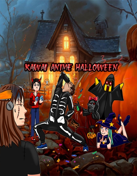 Афиша Краснодар Kawai Anime Halloween/KAH/Кавай Аниме Хеллоуин!