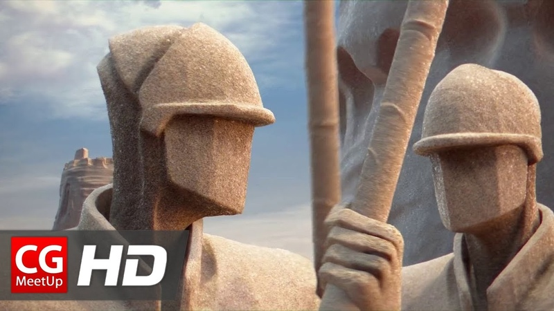 CGI Animated Short Film HD Chateau de Sable (Sand Castle) by ESMA | CGMeetup