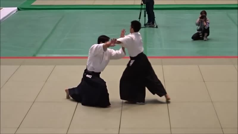Toshio Suzuki Shihan at the 57th All Japan Aikido Demonstration