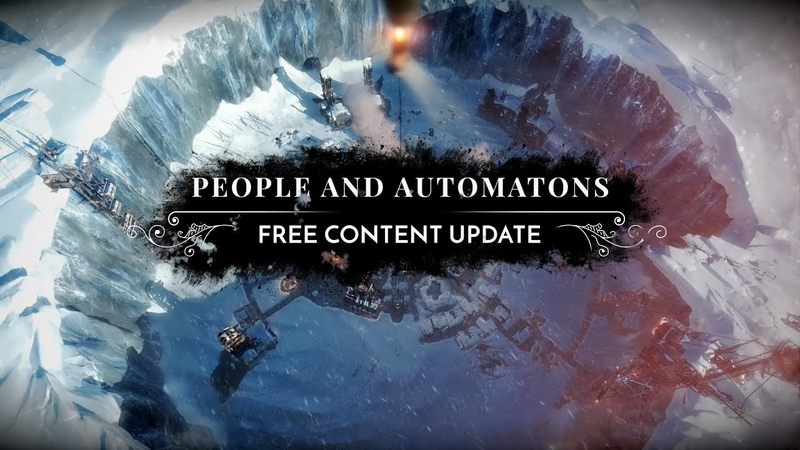Frostpunk Update 1 1 2 People and Automatons