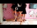Three (Four) Chinese Girls Trample
