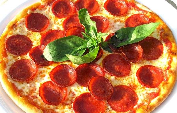 рецепт с фото итальянской пиццы
