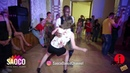 Moussa Mke and Liliya Abdullina Salsa Dancing in Lendvorets at The Third Front 2018, Fri 03.08.2018