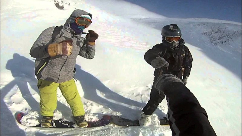 Best snowboarding from CHUKOTKA 3