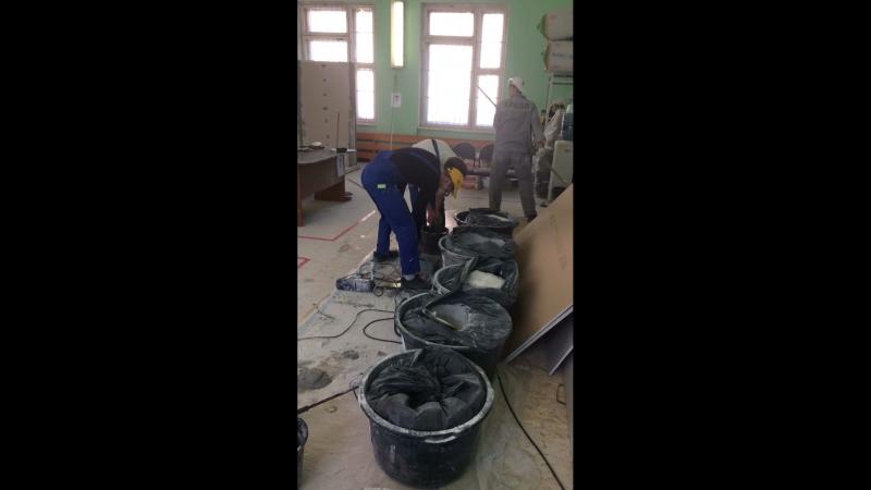 Принимаем экзамен по сухому строительству и штукатурным работам WorldSkills Russia КСТ