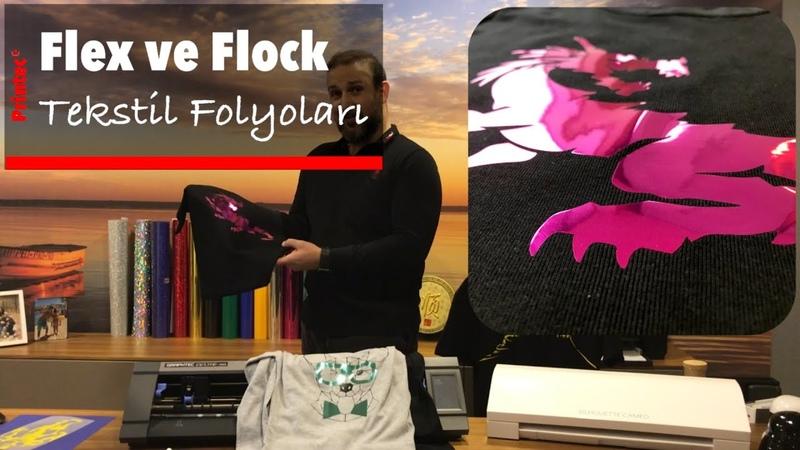 Flex ve Flock Tekstil Folyoları - Printec marka Premium, Eco, Holo, Glitter, Metallic Flex ve Flock